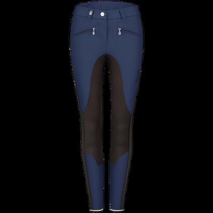 Cavallo blå ridbyxor med grip över knäna